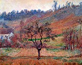Le Val De Falaise, 1885, Claude Monet 1840_1926 French, Oil on canvas, Private Collection