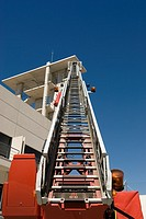 Ladder of fire truck