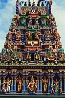 Shri Parth Sarthi temple , Madras Chennai , Tamil Nadu , India