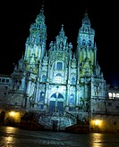 Cathedral, Santiago de Compostela, La Coruña province, Galicia, Spain