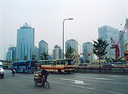 Commercial buildings at Chiao Yang district, Beijing, China