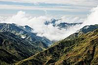 Landscape near Sakaivo, Zafimaniry country, Fianarantsoa, Madagascar