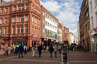 Pedestrian Mall, Dublin, Ireland