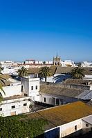View overlooking Sanlucar de Barrameda, Andalucia, Province Cadiz, Spain