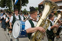 Brass Band, Koenigsdorf, Bavaria, Germany