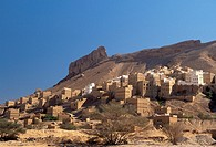 Asia,Yemen,Wadi Hadramaut,Al Hajarain village