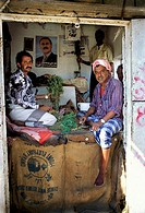Asia,Yemen,Ar Rayyan, Qat national drug, market