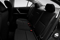 2010 Mazda MAZDA3 s Sport in Gray _ Rear seats