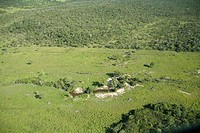 Area of Pasture with Trees, Aquidauana, Mato Grosso do Sul, Brazil