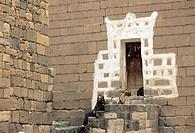 Yemen, Sanaa region, Al Mahwit province, Shibam, The mosque