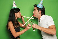 Couple party