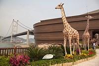 Noah´s Ark & Tsing Ma Bridge, Ma Wan, Hong Kong