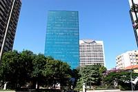 Buildings, Paulista Avenue, São Paulo, Brazil