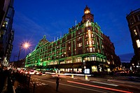 Harrod's Department Store, Knightsbridge, England