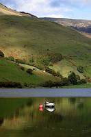 Wales, Gwynedd, Tal_y_llyn, Tal_y_llyn Lake.