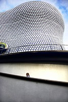 England, West Midlands, Birmingham, An exterior view of the contemporary Bull Ring centre in Birmingham