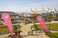 Skyline Pavilion and funfair. Butlins. Bognor Regis. Arun. West Sussex. England. UK.