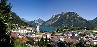 Austria, Salzkammergut, Ebensee on Lake Traunsee