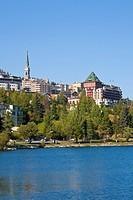 Switzerland, Grisons, Engadin, St. Moritz