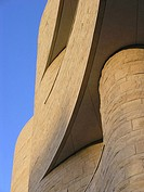 Detail of Smithsonian Museum of the American Indian, Washington D C