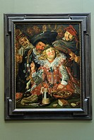 Merrymakers at Shrovetide, ca  1616-17, by Frans Hals Dutch, 1582/83-1666, Metropolitan Museum of Art, New York City