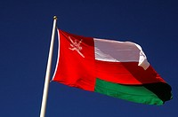 National flag of the Sultanate of Oman