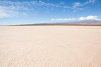 Salt pan at el leoncito national park in northern argentina