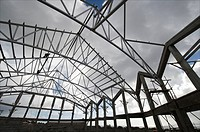 Sint Eustatius, adventist church, construction of a new roof and floor