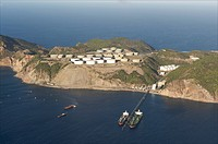 Sint Eustatius, terminals of Statia Oil