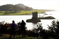 Scotland, loch linnhe castle