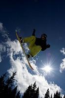 Slovakia, Jasna, snowpark, freestylers