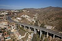 Autovía del Mediterráneo, Malaga province, Costa del Sol, Andalusia, Spain