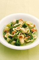 Orecchiette with vegetables