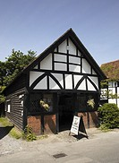 The Old Forge blacksmiths shop at Shere Surrey England UK