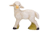 Close_up of a figurine of lamb