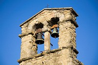 europe, italy, tuscany, cortona, st christopher church, bells