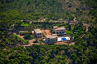 Claudia Schiffer´s house. Camp de Mar. Andratx. Majorca. Balearic Islands. Spain.