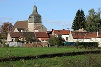 VILLAGE, LE BRETHON, ALLIER 03, FRANCE