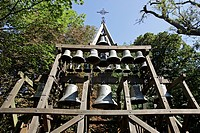 THE BELLS, THE CHAPEL OF NOTRE_DAME DE GRACE, HONFLEUR, CALVADOS 14, NORMANDY, FRANCE