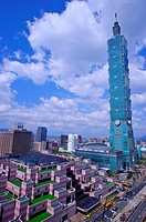 Taiwan, Taipei, Taipei 101, Taipei World Trade Center (thumbnail)