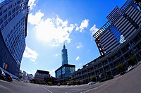Taiwan, Taipei, Taipei 101, Xinyi Commercial Center (thumbnail)
