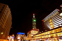 Taiwan, Taipei, Taipei 101, Xinyi Commercial Center