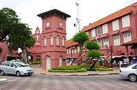 Malaysia, Melaka State, Portugis Square, Bell Tower