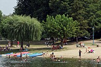 THE BEACH, BANKS OF THE CHER, MONTRICHARD, LOIR_ET_CHER 41, FRANCE