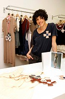 FASHION DESIGNER, 'DANIELA SEVAROLLI', LILLE, NORD 59, FRANCE