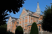 CITY HALL, CENTRAL MAYOR´S OFFICE, SAINT_SAUVEUR NEIGHBOURHOOD, LILLE, NORD 59, FRANCE