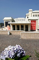 CASINO BARRIERE IN BIARRITZ, ART DECO ARCHITECTURE, BASQUE COUNTRY, BASQUE COAST, BIARRITZ, PYRENEES ATLANTIQUES, 64, FRANCE