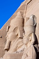 Colossal Statue of Pharao Ramesses II, Abu Simbel, Egypt
