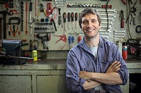 Mechanic, portrait (thumbnail)