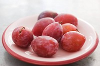 Ripe plums